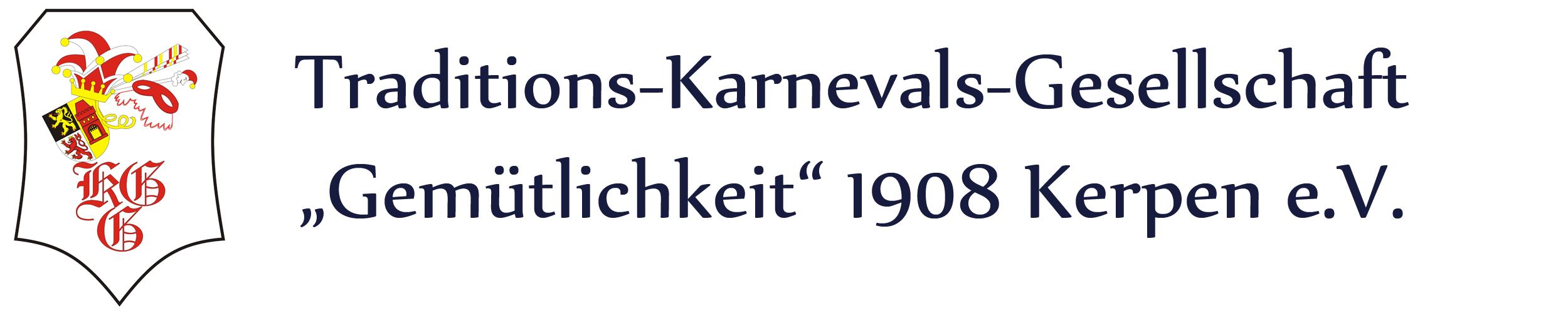 Traditions-Karnevals-Gesellschaft Gemütlichkeit 1908 Kerpen e.V.